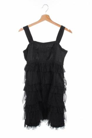 Детска рокля H&M, Размер 15-18y/ 170-176 см, Цвят Черен, Полиестер, Цена 3,60лв.