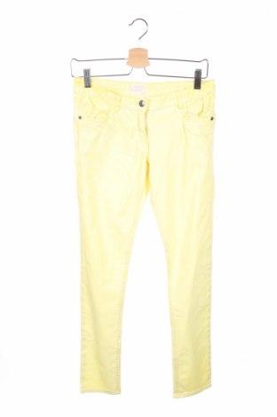 Pantaloni de copii Alive, Mărime 12-13y/ 158-164 cm, Culoare Galben, 97% bumbac, 3% elastan, Preț 19,74 Lei
