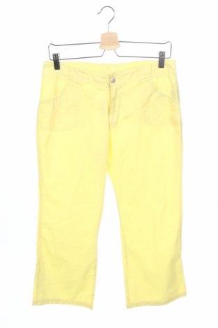 Pantaloni de copii Myc, Mărime 15-18y/ 170-176 cm, Culoare Galben, Bumbac, Preț 16,58 Lei