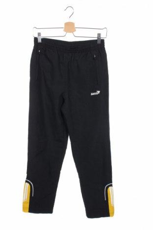 Pantaloni trening de copii Jako, Mărime 13-14y/ 164-168 cm, Culoare Negru, 100% poliester, Preț 15,00 Lei