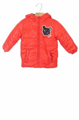 Детско яке Tuc Tuc, Размер 9-12m/ 74-80 см, Цвят Червен, 100% полиестер, Цена 56,32лв.