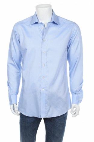 Мъжка риза Camicissima, Размер L, Цвят Син, Памук, Цена 20,80лв.