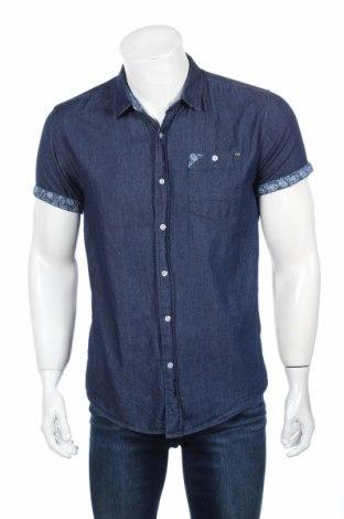 Мъжка риза Crosshatch, Размер M, Цвят Син, Памук, Цена 10,45лв.