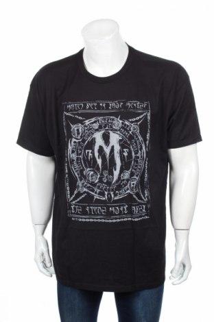 Tricou de bărbați, Mărime XXL, Culoare Negru, Bumbac, Preț 84,21 Lei