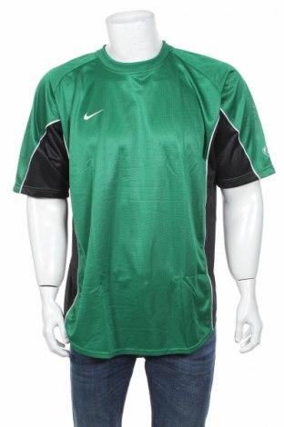 Pánske tričko  Nike, Veľkosť XL, Farba Zelená, 100% polyester, Cena  17,24€