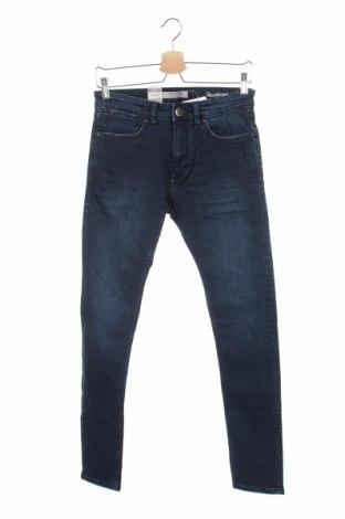 Męskie jeansy Mango, Rozmiar S, Kolor Niebieski, 98% bawełna, 2% elastyna, Cena 45,00zł