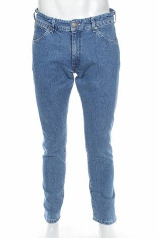 Pánske džínsy  Wrangler, Veľkosť L, Farba Modrá, 99% bavlna, 1% elastan, Cena  45,88€