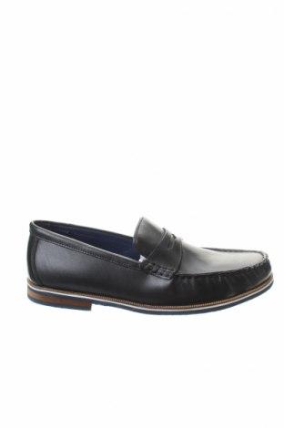 Ανδρικά παπούτσια Eric Bonchamps, Μέγεθος 42, Χρώμα Μπλέ, Γνήσιο δέρμα, Τιμή 29,51€