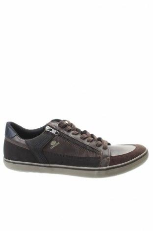 Ανδρικά παπούτσια Geox, Μέγεθος 45, Χρώμα Καφέ, Φυσικό σουέτ, δερματίνη, Τιμή 40,77€