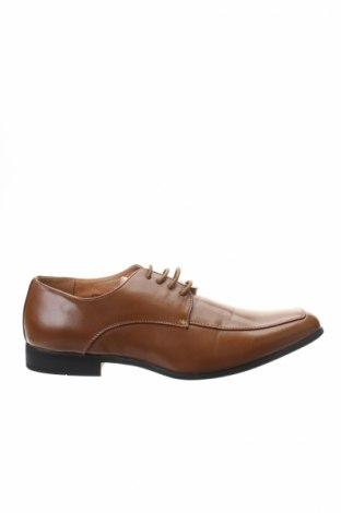 Мъжки обувки Goor, Размер 45, Цвят Кафяв, Еко кожа, Цена 27,30лв.