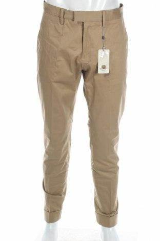 Ανδρικό παντελόνι Mango, Μέγεθος L, Χρώμα  Μπέζ, 97% βαμβάκι, 3% ελαστάνη, Τιμή 8,97€