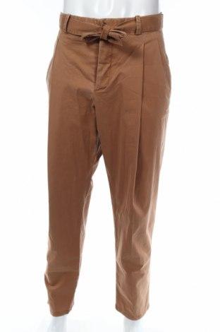 Pánske nohavice  Mango, Veľkosť XL, Farba Hnedá, 68% bavlna, 30% lyocell, 2% elastan, Cena  14,95€