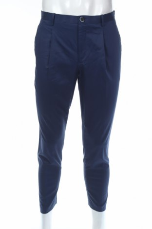 Pánské kalhoty  Mango, Rozměr M, Barva Modrá, 72% bavlna, 25% lyocell, 3% elastan, Cena  299,00Kč