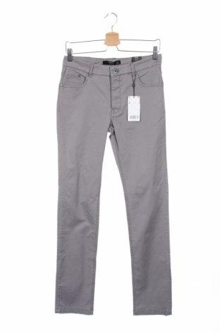 Ανδρικό παντελόνι Mango, Μέγεθος S, Χρώμα Γκρί, 97% βαμβάκι, 3% ελαστάνη, Τιμή 6,64€