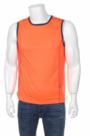 Ανδρική αμάνικη μπλούζα, Μέγεθος L, Χρώμα Πορτοκαλί, Πολυεστέρας, Τιμή 2,48€