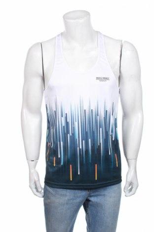 Ανδρική αμάνικη μπλούζα Muscle Monkey, Μέγεθος S, Χρώμα Λευκό, Πολυεστέρας, Τιμή 4,27€