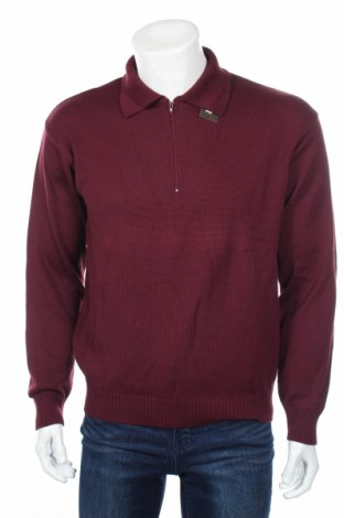 Ανδρικό πουλόβερ Belmondo, Μέγεθος L, Χρώμα Κόκκινο, Τιμή 29,48€
