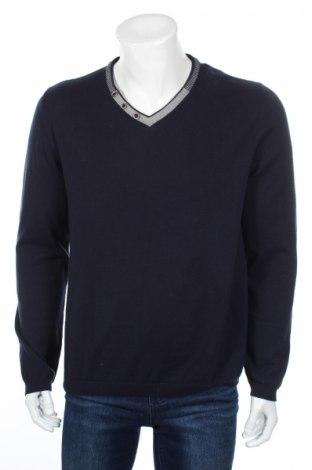 Ανδρικό πουλόβερ Devred 1902, Μέγεθος XL, Χρώμα Μπλέ, Βαμβάκι, Τιμή 14,82€