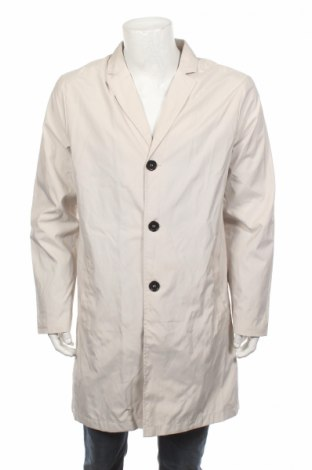 Мъжки шлифер Guess, Размер L, Цвят Бежов, Цена 68,70лв.