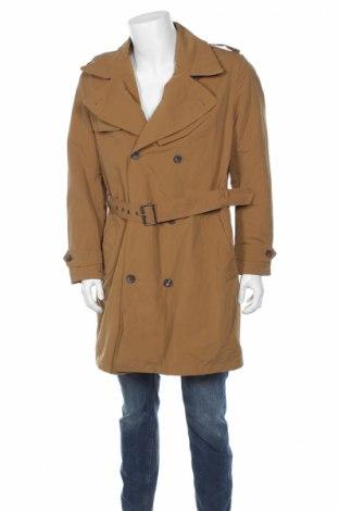 Мъжки шлифер Mango, Размер L, Цвят Кафяв, Полиамид, Цена 41,65лв.
