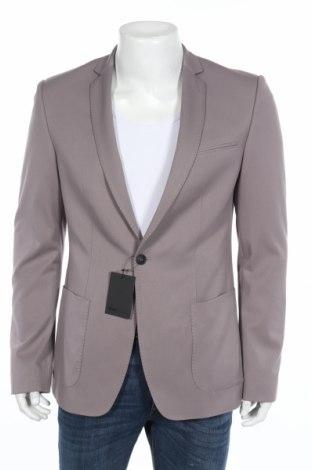 Ανδρικό σακάκι ASOS, Μέγεθος XL, Χρώμα Γκρί, 62% πολυεστέρας, 33% βισκόζη, 5% ελαστάνη, Τιμή 14,05€
