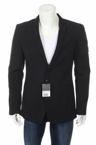 Ανδρικό σακάκι Rogues of London, Μέγεθος XL, Χρώμα Μαύρο, 95% πολυεστέρας, 5% ελαστάνη, Τιμή 16,06€