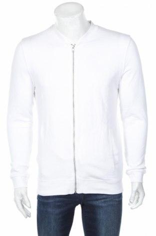 Мъжко спортно горнище Asos, Размер S, Цвят Бял, Памук, Цена 21,60лв.