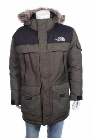Мъжко яке The North Face, Размер L, Цвят Зелен, Полиамид, пух и пера, Цена 309,60лв.