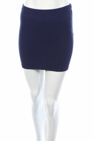 Пола Amisu, Размер XS, Цвят Син, 95% полиестер, 5% еластан, Цена 3,68лв.