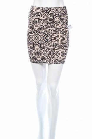 Φούστα Charlotte Russe, Μέγεθος S, Χρώμα  Μπέζ, 95% βαμβάκι, 5% ελαστάνη, Τιμή 4,80€