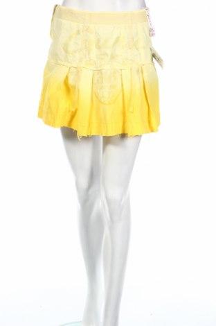 Φούστα Guru, Μέγεθος XS, Χρώμα Κίτρινο, Τιμή 3,67€