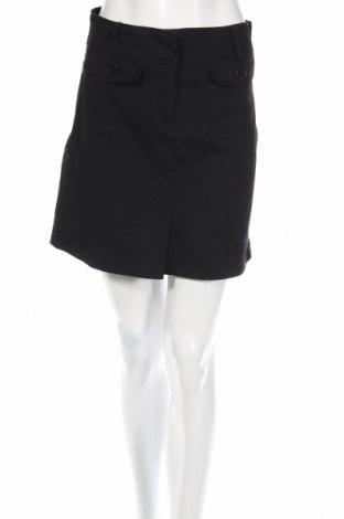 Пола H&M, Размер XS, Цвят Черен, 97% памук, 3% еластан, Цена 4,00лв.