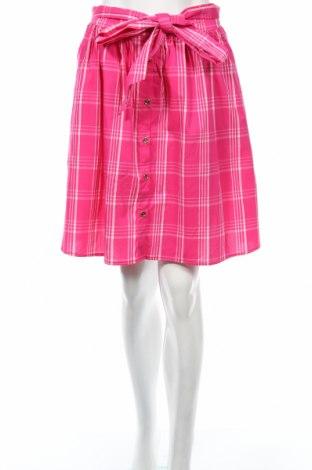 Пола Mohito, Размер S, Цвят Розов, 65% памук, 32% полиамид, 3% еластан, Цена 10,14лв.