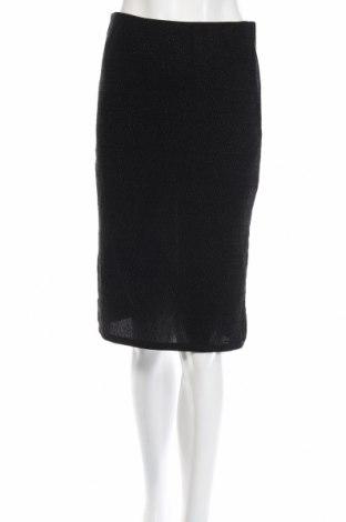 Пола Vero Moda, Размер S, Цвят Черен, 77% полиамид, 18% метални нишки, 5% еластан, Цена 5,50лв.