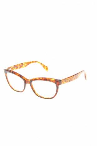 Рамки за очила Alexander Mcqueen, Цвят Кафяв, Цена 136,42лв.