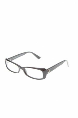Рамки за очила Alexander Mcqueen, Цвят Черен, Цена 136,42лв.