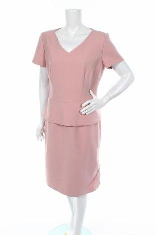 Šaty  Hugo Boss, Veľkosť L, Farba Ružová, 61% polyester, 7% bavlna, 6% elastan, 26% viskóza, Cena  40,10€