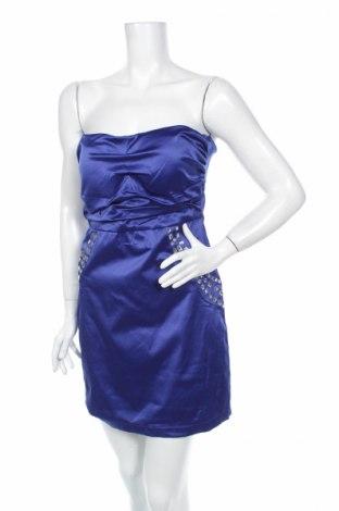 Φόρεμα Usco, Μέγεθος M, Χρώμα Μπλέ, 61% βαμβάκι, 36% πολυεστέρας, 3% ελαστάνη, Τιμή 8,40€