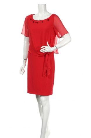 Рокля Vera Mont, Размер M, Цвят Червен, 95% полиестер, 5% еластан, Цена 89,75лв.
