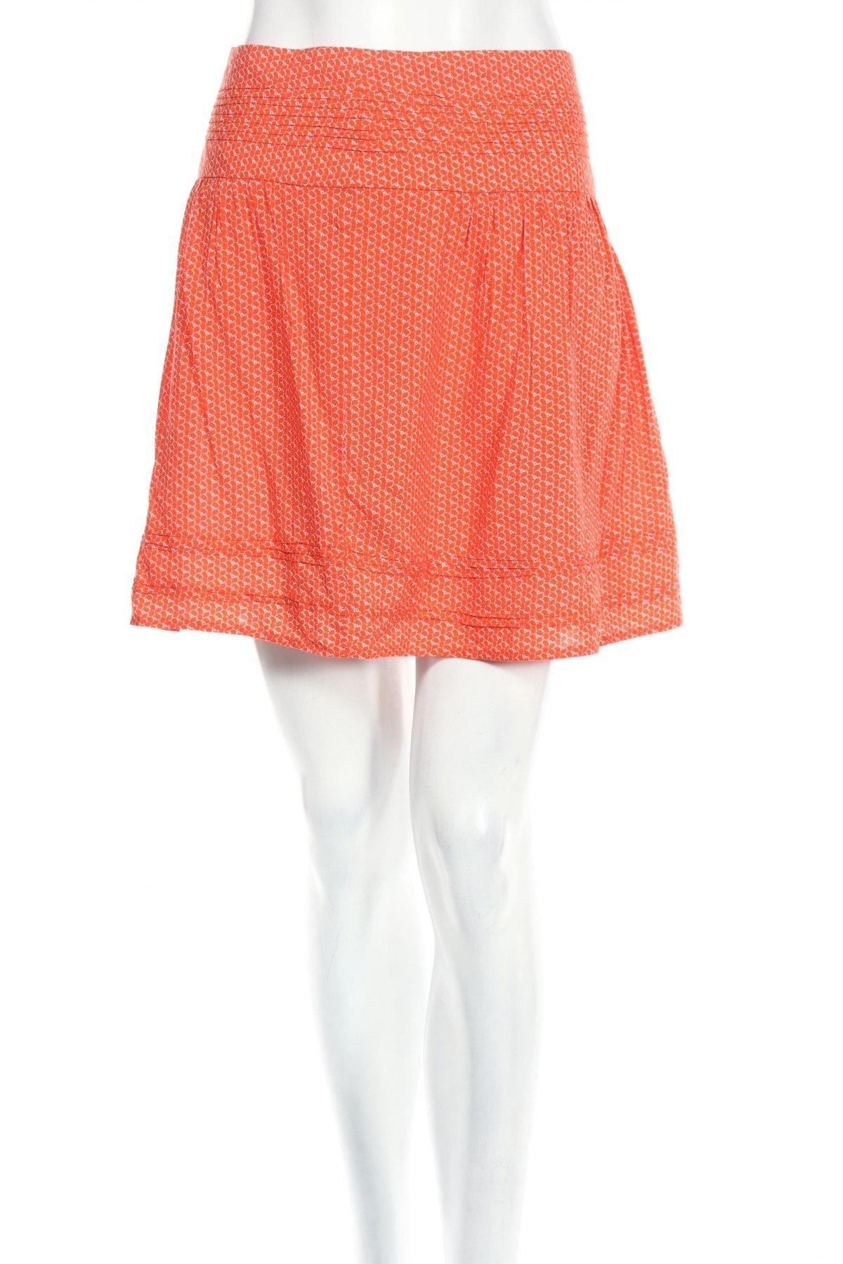Пола Camaieu, Размер M, Цвят Оранжев, Вискоза, Цена 48,00лв.