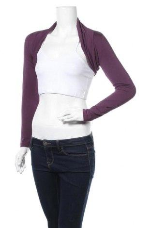 Болеро Miss Grant, Размер M, Цвят Лилав, 93% вискоза, 7% еластан, Цена 13,80лв.