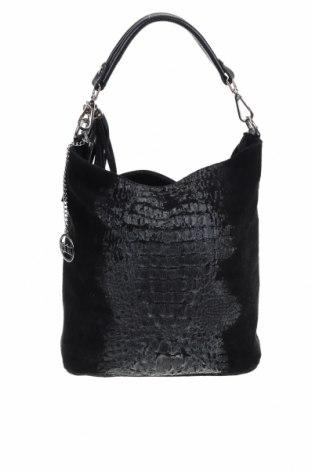 Τσάντα Mia Tomazzi, Χρώμα Μαύρο, Φυσικό σουέτ, Τιμή 37,24€