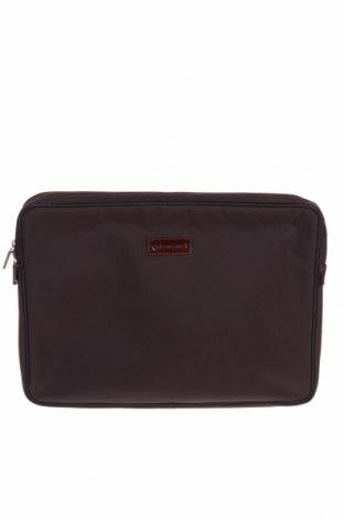 Чанта Samsonite, Цвят Кафяв, Текстил, естествена кожа, Цена 49,68лв.