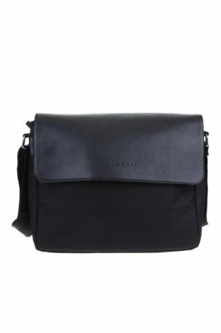 Чанта за лаптоп Bugatti, Цвят Черен, Текстил, еко кожа, Цена 71,40лв.