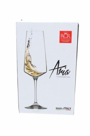 Чаши за вино RCR Cristalleria Italiana, Цвят Бял, Стъкло, Цена 35,88лв.