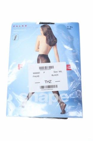 Чорапогащи Falke, Размер M, Цвят Черен, 64% полиамид, 36% еластан, Цена 36,75лв.