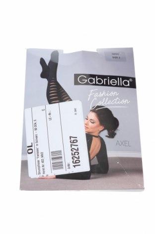 Чорапогащи Gabriella, Размер S, Цвят Черен, 85% полиамид, 15% еластан, Цена 13,20лв.