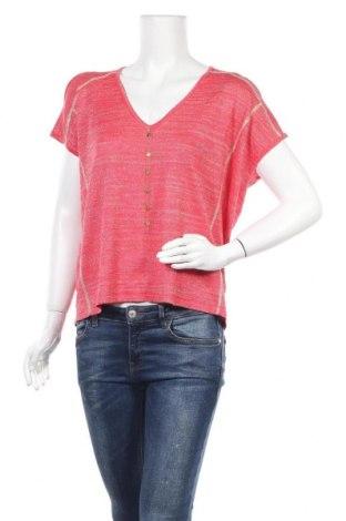 Γυναικεία μπλούζα, Μέγεθος S, Χρώμα Κόκκινο, 75% βισκόζη, 24% μεταλλικά νήματα, Τιμή 2,92€