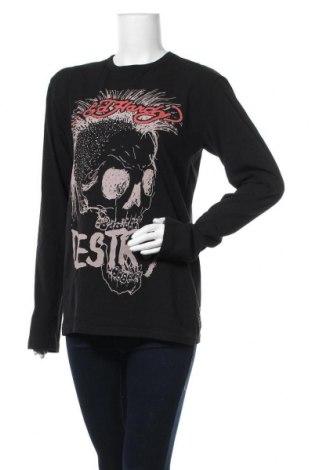 Γυναικεία μπλούζα Ed Hardy, Μέγεθος L, Χρώμα Μαύρο, Βαμβάκι, Τιμή 13,64€