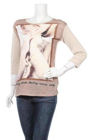 Дамска блуза 17 & Co., Размер S, Цвят Бежов, Полиестер, Цена 10,92лв.